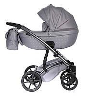 Детская коляска 2 в 1 Tako Cristal Fluo Line 05 серая