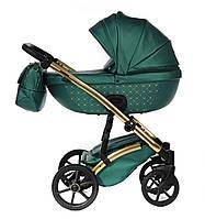 Детская коляска 2 в 1 Tako Cristal Fluo Line 04 зеленая