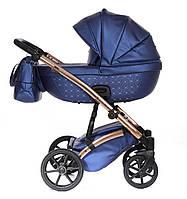 Детская коляска 2 в 1 Tako Cristal Fluo Line 03 синяя