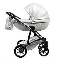 Детская коляска 2 в 1 Tako Cristal Fluo Line 01 белая
