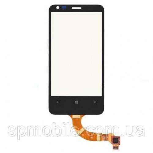 Touch screen Nokia N620 чорний.копія