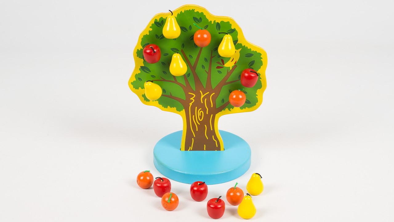 Деревянная игрушка Фруктовый сад.C221.
