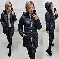 Куртка зима, модель  212/2, цвет черный, фото 1
