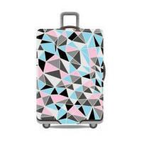 Чехол для большого чемодана дайвинг  big colored squares