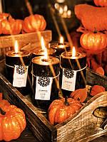 "Чёрная свеча на Хэллоуин «Осенний кофе"", фото 1"