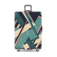 Чехол для большого чемодана дайвинг big abstraction