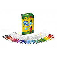 Крайола смывающиеся фломастеры  Crayola 50 Super Tips Washable Markers