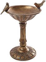 Декоративная чаша-конфетница Tabitha 25х20.5х32см, бронза