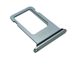 Держатель SIM-карты Nano sim tray iPhone 8 Plus White, белый