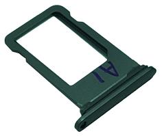 Держатель SIM-карты Nano sim tray iPhone 8 Plus Gray, серый