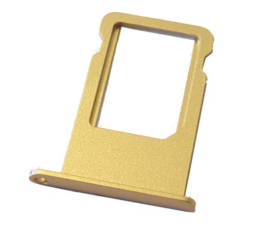 Держатель SIM-карты iPhone (Nano sim tray) 6 Plus gold