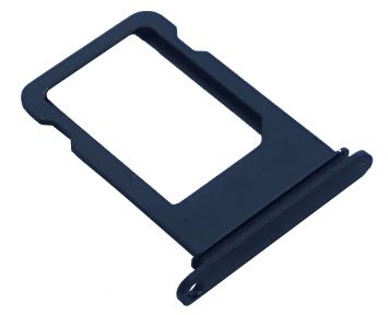 Держатель SIM-карты (Nano sim tray) iPhone 7 Black Gloss