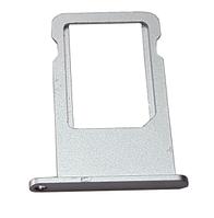 Держатель SIM-карты (Nano sim tray) iPhone 6S Plus Grey