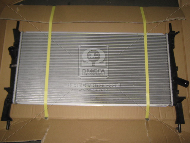 Радіатор охолодження двигуна TRANSIT7 ALL MT +AC 06- (Van Wezel). 18002405