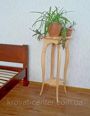 "Подставка для цветов из дерева ""Азалия"" (ольха), фото 2"