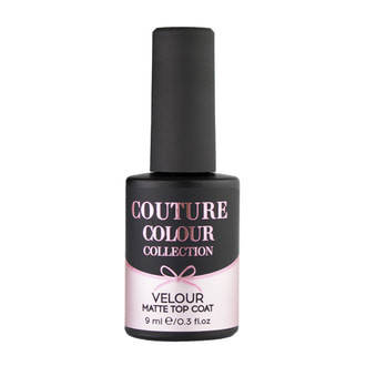 Бархатный топ под гель-лак Couture Colour Velour Matte Top Coat 9мл