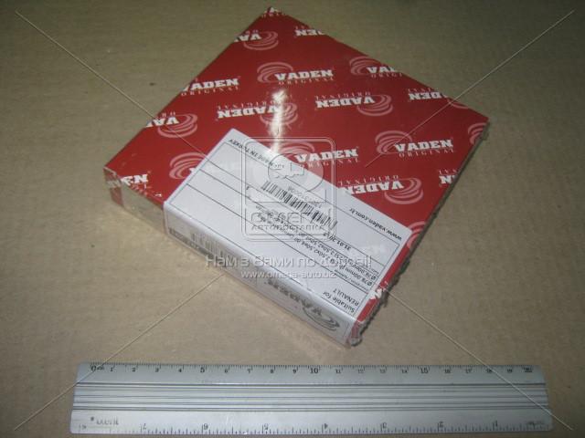 Кольца поршневые 78.00mm (0,25) 2,50x2,50x4,00 KNORR, RVI Magnum, Premium, Midlum (пр-во VADEN). 781201