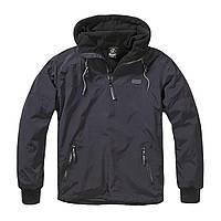 Куртка-анорак Brandit Luke Windbreaker (чёрная)
