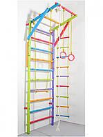 Шведская лестница модульная цветная Три Енота, фото 1