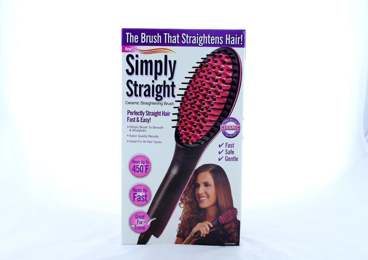 Электрическая расческа-выпрямитель Simply Straight HQT-906B | Стайлер для волос
