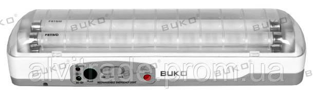 Светильник  аварийного освещения BUKO BK283 T5 2*8W DC 6V 3,2AH