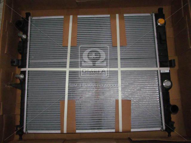 Радиатор охлаждения двигателя MERCEDES ML230 98- (пр-во NRF). 55334