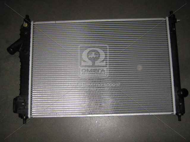 Радиатор двигателя CHEVROLET AVEO (T250, T255) (05-) 1.4 i AT (пр-во Van Wezel). 81002087