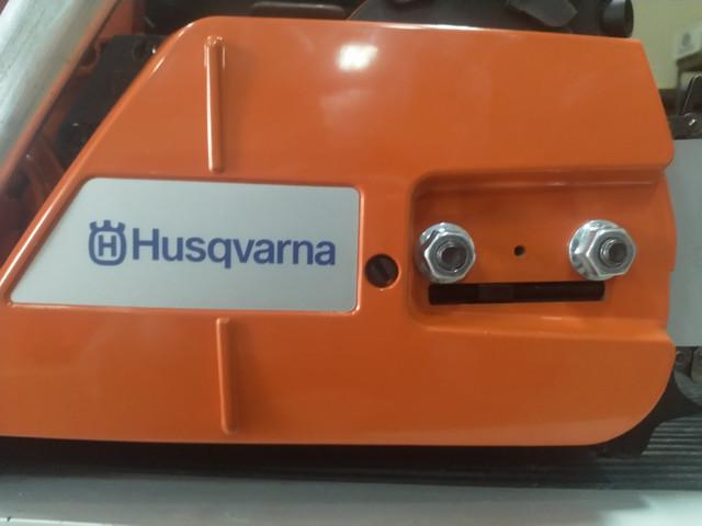 Боковое натяжение цепи бензопилы husqvarna 365