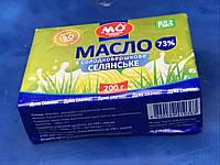 Масло сливочное ГОСТ 73% (пачка 0,2кг) от Малороганский молочный завод