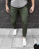 Штаны зимние мужские Pobedov trousers Papin Brodyaga теплые брюки на флисе хаки