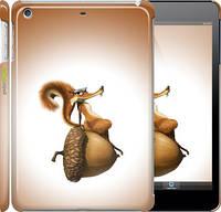 "Чехол на iPad mini Ледниковый период. Белка с орехом ""200c-27"""