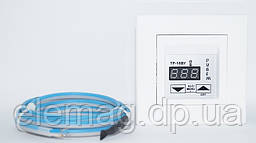 Белый Терморегулятор для теплого пола Schneider Asfora