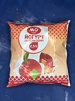 Йогурт персиковый от Малороганский молочный завод, фото 1