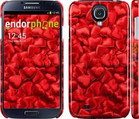 """Чехол на Samsung Galaxy S4 i9500 Атласные сердца """"737c-13"""""""