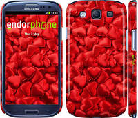 """Чехол на Samsung Galaxy S3 i9300 Атласные сердца """"737c-11"""""""