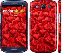 "Чехол на Samsung Galaxy S3 Duos I9300i Атласные сердца ""737c-50"""