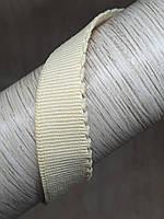 Резинка становая зубчик 14 мм бежевая