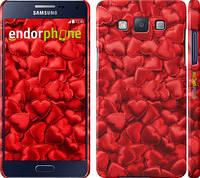 """Чехол на Samsung Galaxy A5 A500H Атласные сердца """"737c-73"""""""