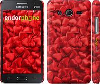 "Чехол на Samsung Galaxy Core 2 G355 Атласные сердца ""737c-75"""