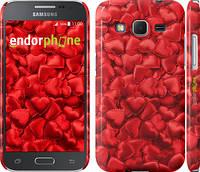 "Чехол на Samsung Galaxy Core Prime G360H Атласные сердца ""737c-76"""