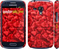 "Чехол на Samsung Galaxy S3 mini Атласные сердца ""737c-31"""