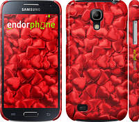 "Чехол на Samsung Galaxy S4 mini Атласные сердца ""737c-32"""