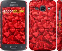 "Чехол на Samsung Galaxy Ace 3 Duos s7272 Атласные сердца ""737c-33"""