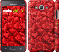 """Чехол на Samsung Galaxy Grand Prime G530H Атласные сердца """"737c-74"""""""