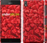 """Чехол на Sony Xperia Z3 D6603 Атласные сердца """"737c-58"""""""