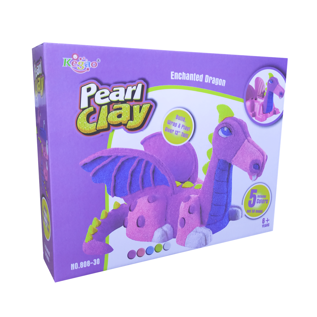 "Детский набор для лепки (шариковый пластилин) ""Pearl clay"""