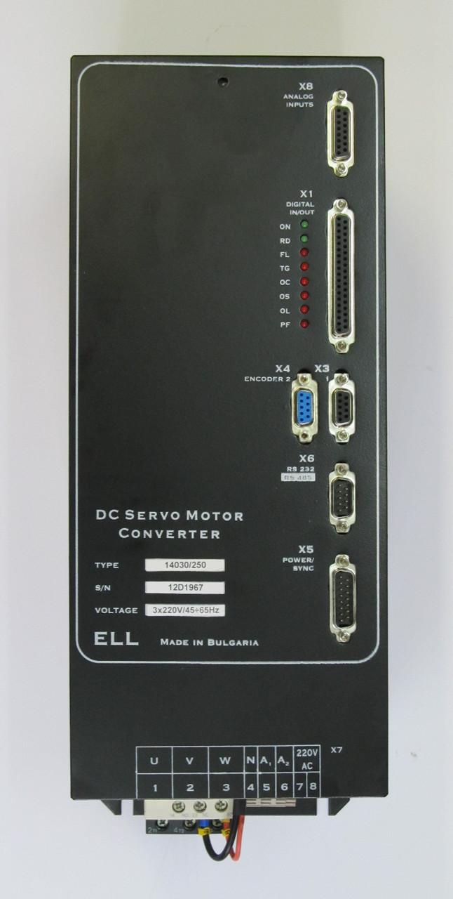 Цифровой тиристорный преобразователь серии ELL 14120/250 для приводов подачи