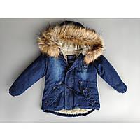 Куртка парка для мальчика опт, зима 1-5 лет, фото 1