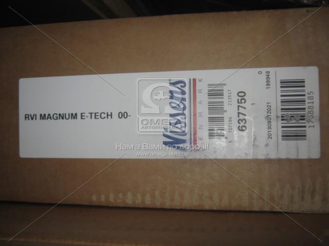 Радіатор охолодження RVI MAGNUM E-TECH 00- (пр-во Nissens). 637750