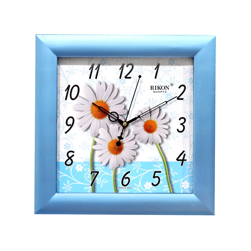 Часы настенные  Rikon 10951 PIC Blue